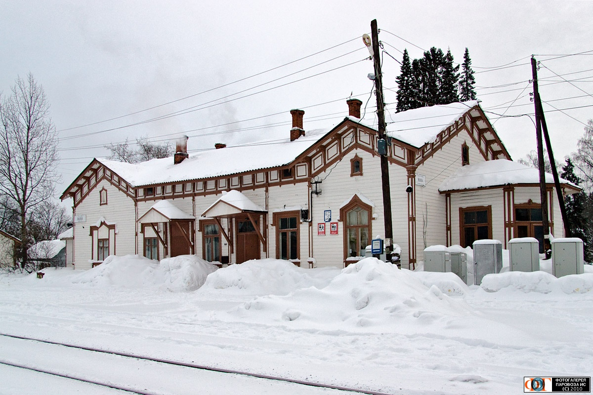 February 22, 2010. Jaakkima Railway Station