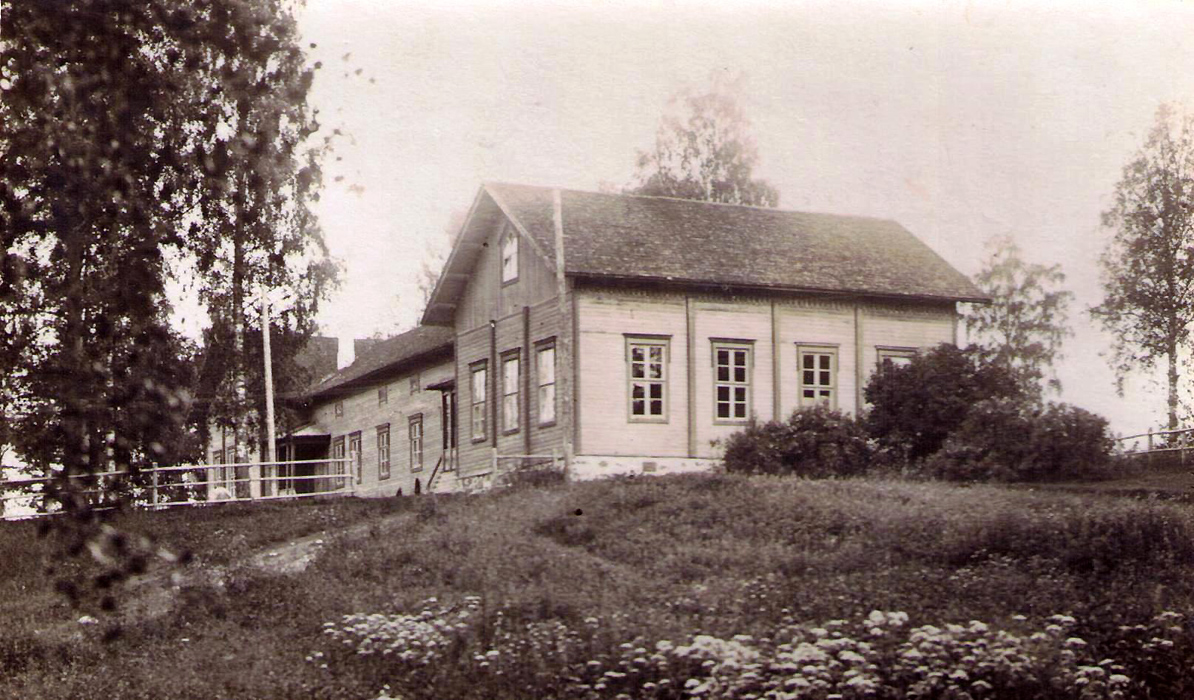 1910-е годы. Яаккима. Народная школа