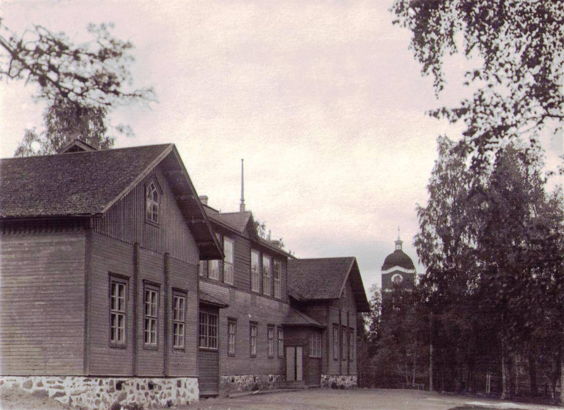 1910-luvun. Jaakkima. Kansakoulu
