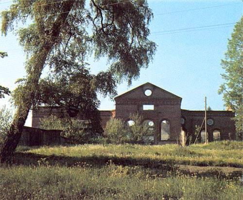 1978. Ruins of the church