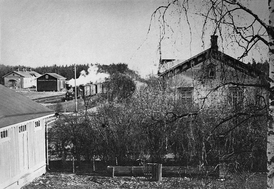 1930-luvun. Jaakkiman asema