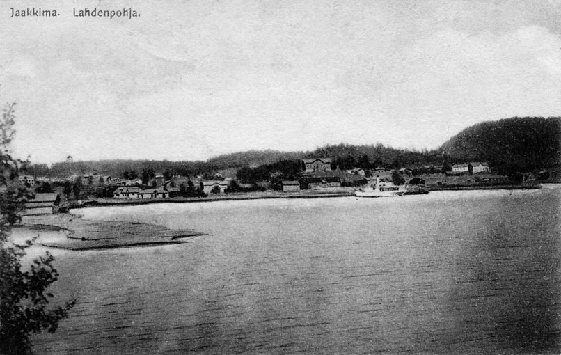 1920-luvun. Lahdenpohjan satama