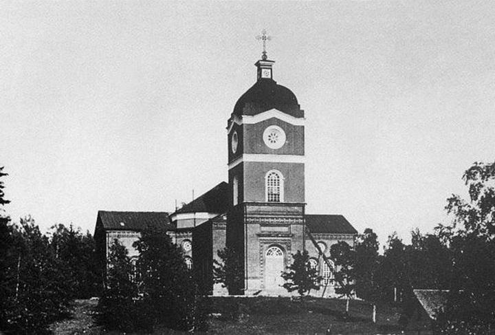 1941. Jaakkima. Lutheran church