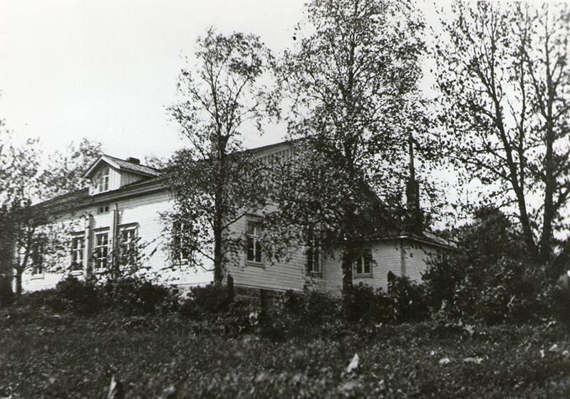 1930-luvun. Hökkölä. Jaakkiman kappalaisen pappila