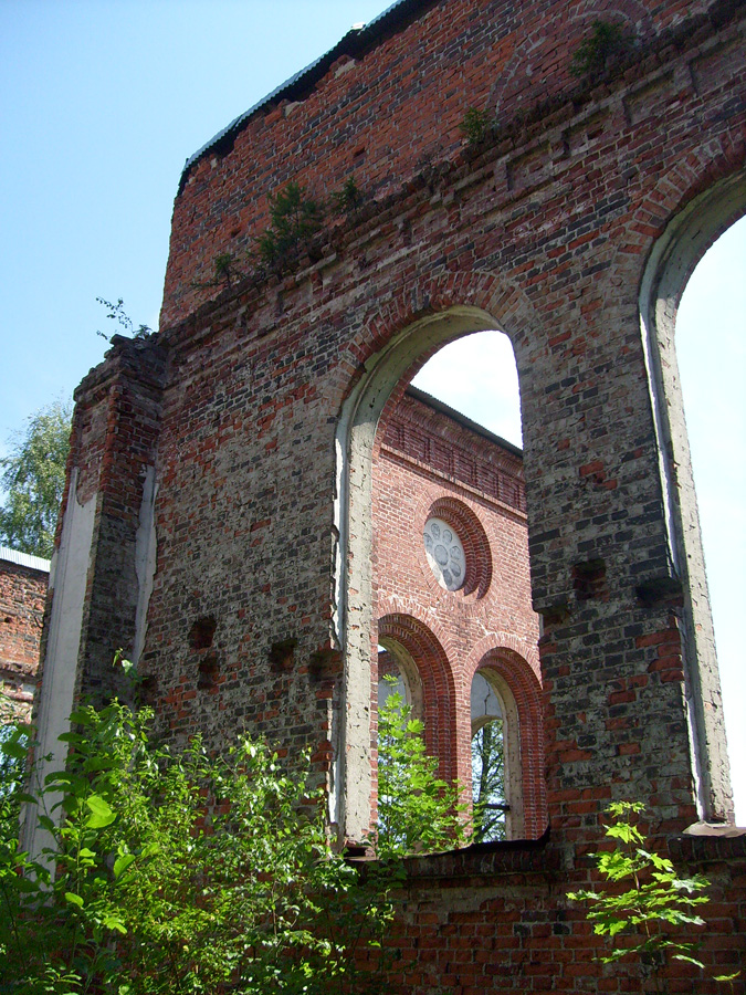 2012. Ruins of the church