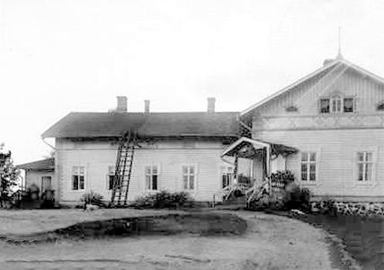 1927. Jaakkima. Priest house