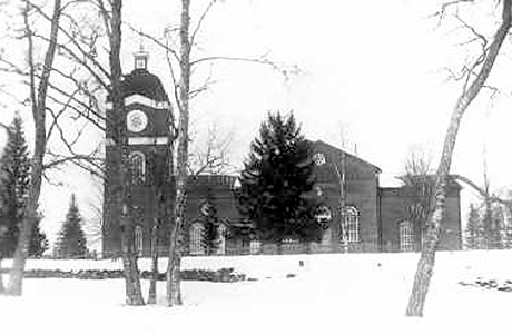 1920's. Jaakkima. Lutheran church