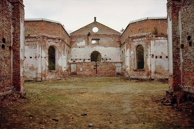 1999. Ruins of the church
