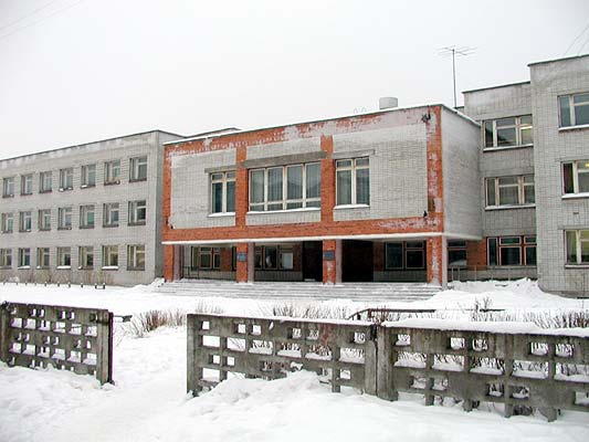 January 2002. Lahdenpohja. School