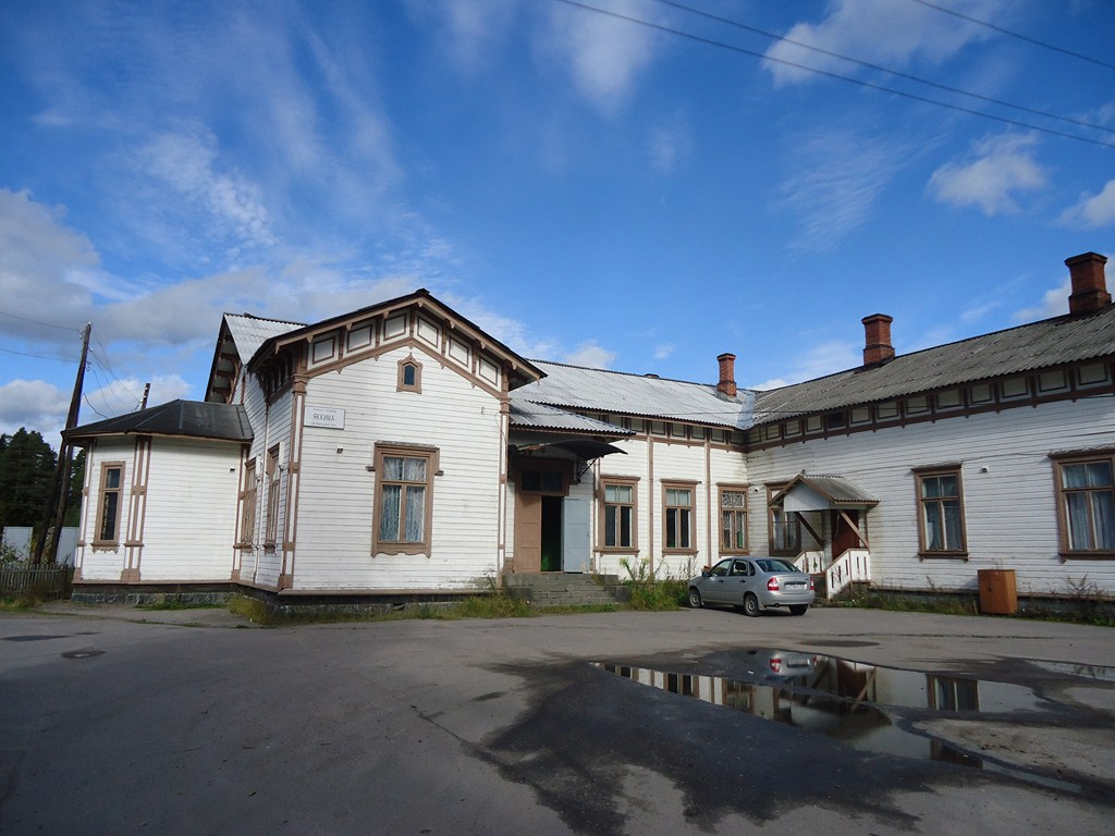 September 20, 2012. Jaakkima Railway Station
