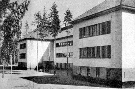1930's. Huuhanmäki. The barracks