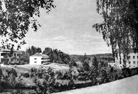 1930's. Huuhanmäki. The Officer's village