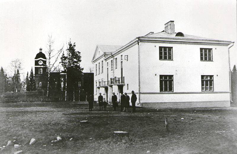 1928. Jaakkima. The Popular School