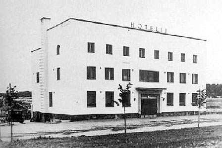1930's. The Hotel Puistola