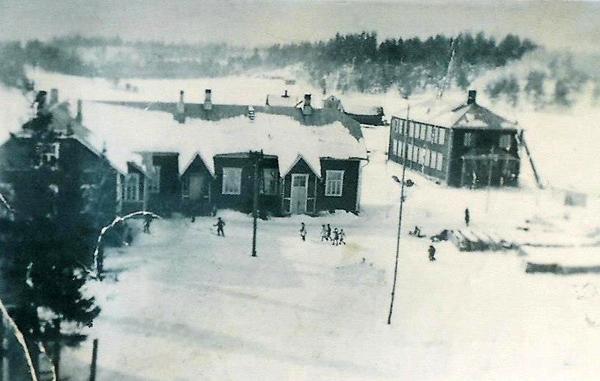 1930-luvun. Metsämiklin koulu