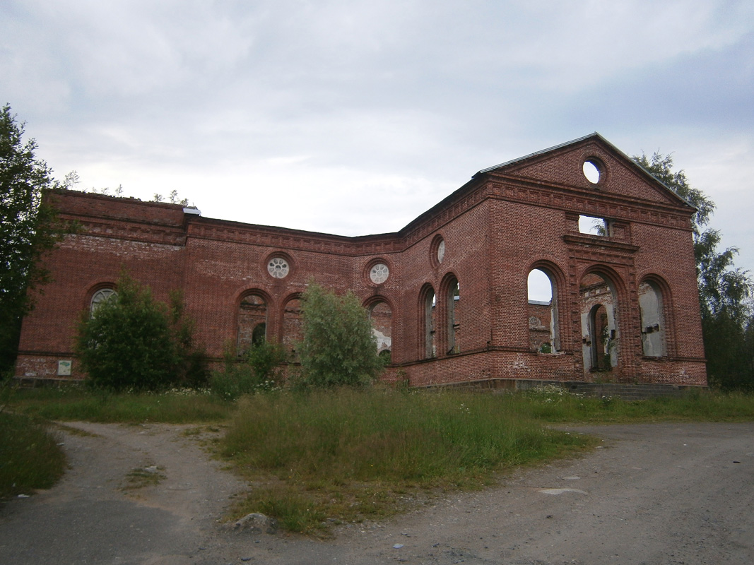 July 9, 2011. Ruins of the church