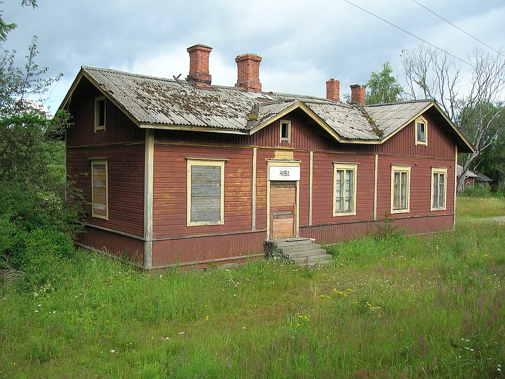 July 21, 2007. Niva Railway Station