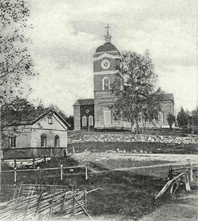 1900. Jaakkima. Luterilainen kirkko