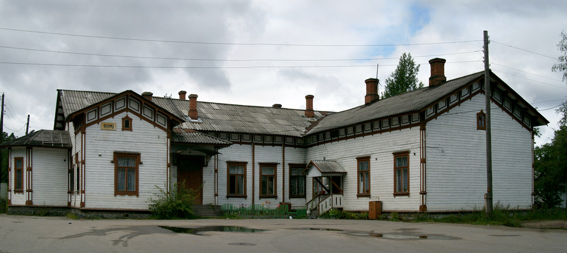 August 30, 2008. Jaakkima Railway Station