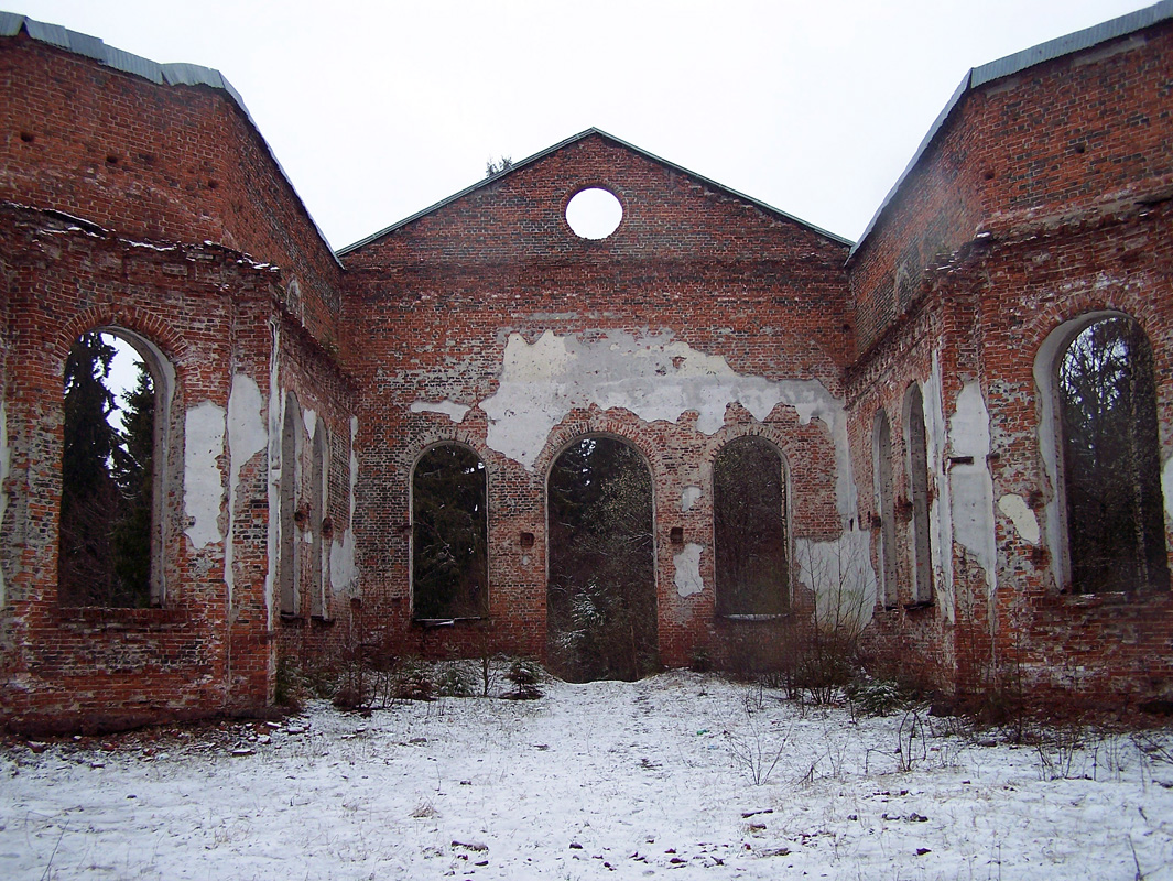 2011. Ruins of the church