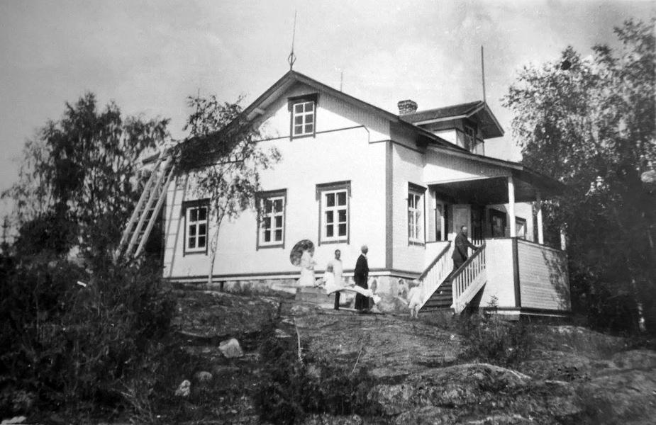 1920-luvun lopulla. Rukolan vanha kansakoulu