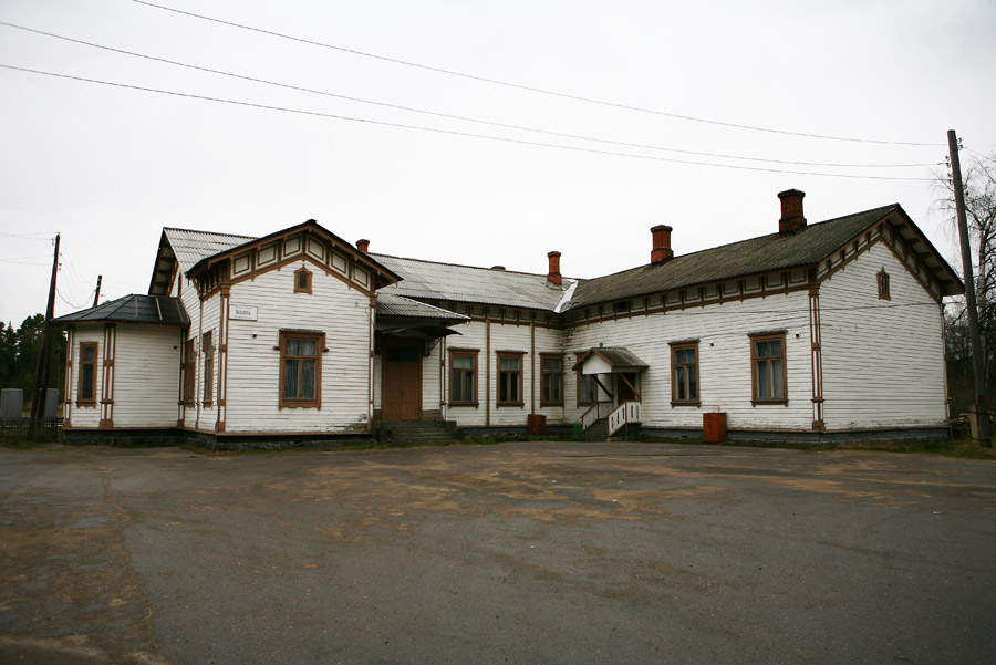 May 9, 2013. Jaakkima Railway Station