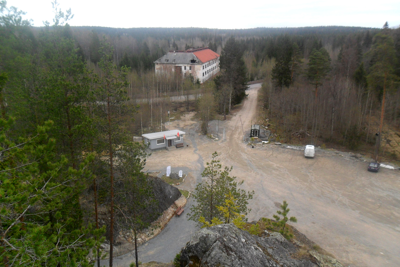 June 2017. Huuhanmäki