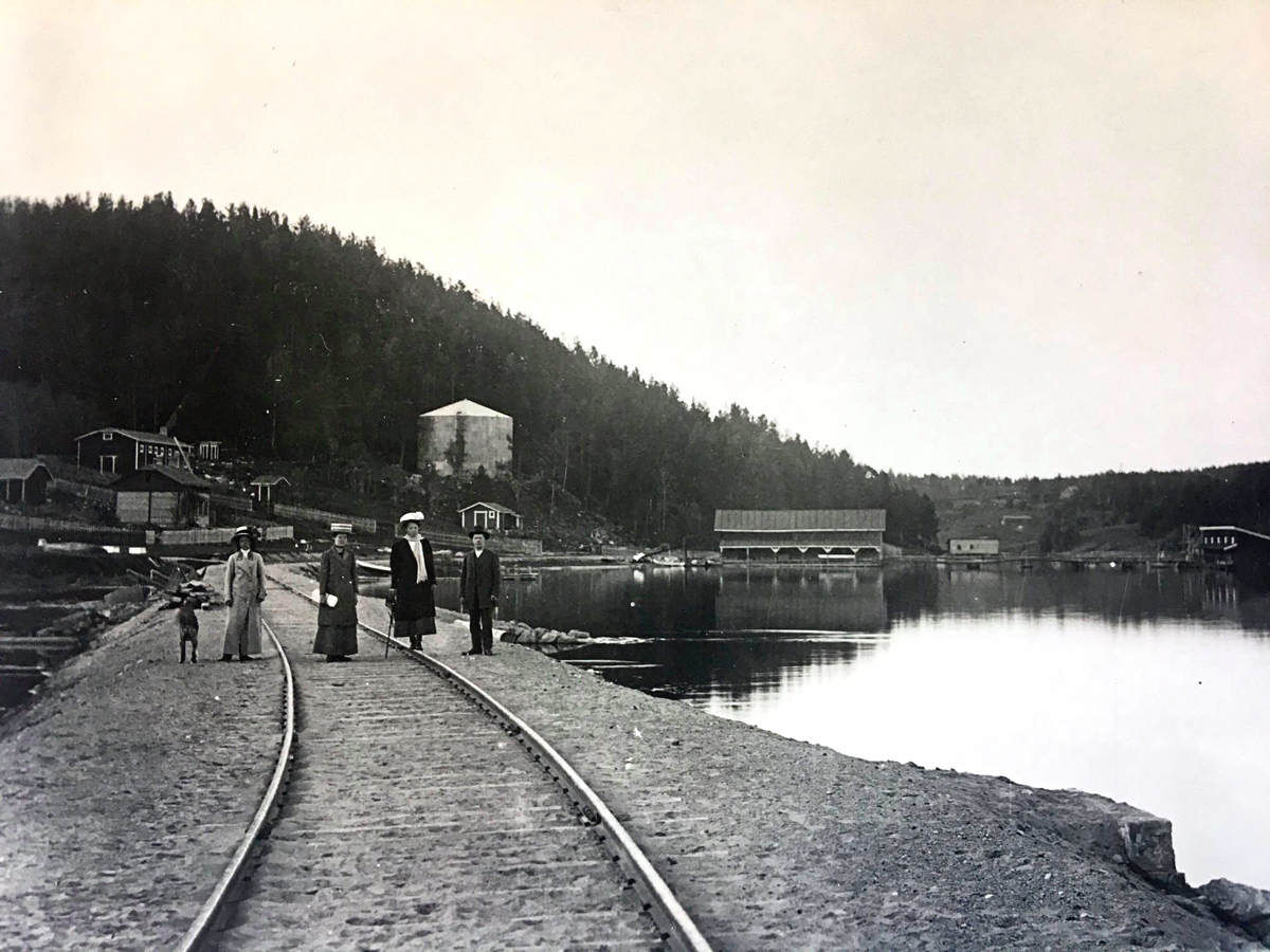 1920-е годы. Порт Лахденпохья