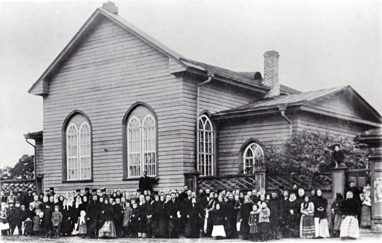Early 1900's. Lutheran church in Petrosavodsk