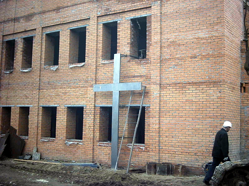 October 16, 2006. Lutheran church in Petrosavodsk