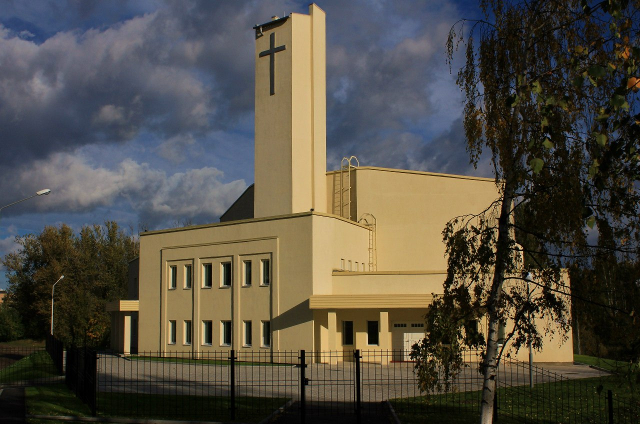 Early 2010's. Lutheran church in Petrosavodsk