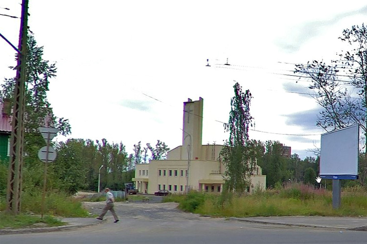 August 2010. Lutheran church in Petrosavodsk