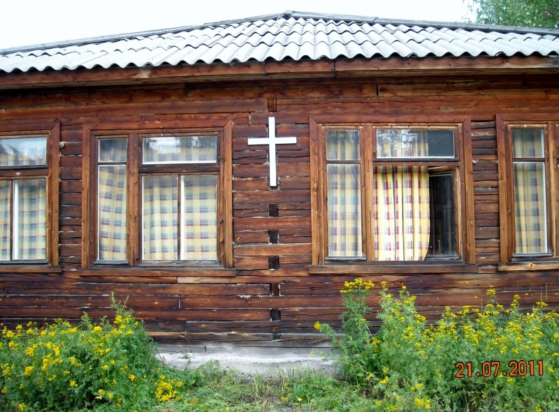 July 21, 2011. Lutheran Church in Muyezersky