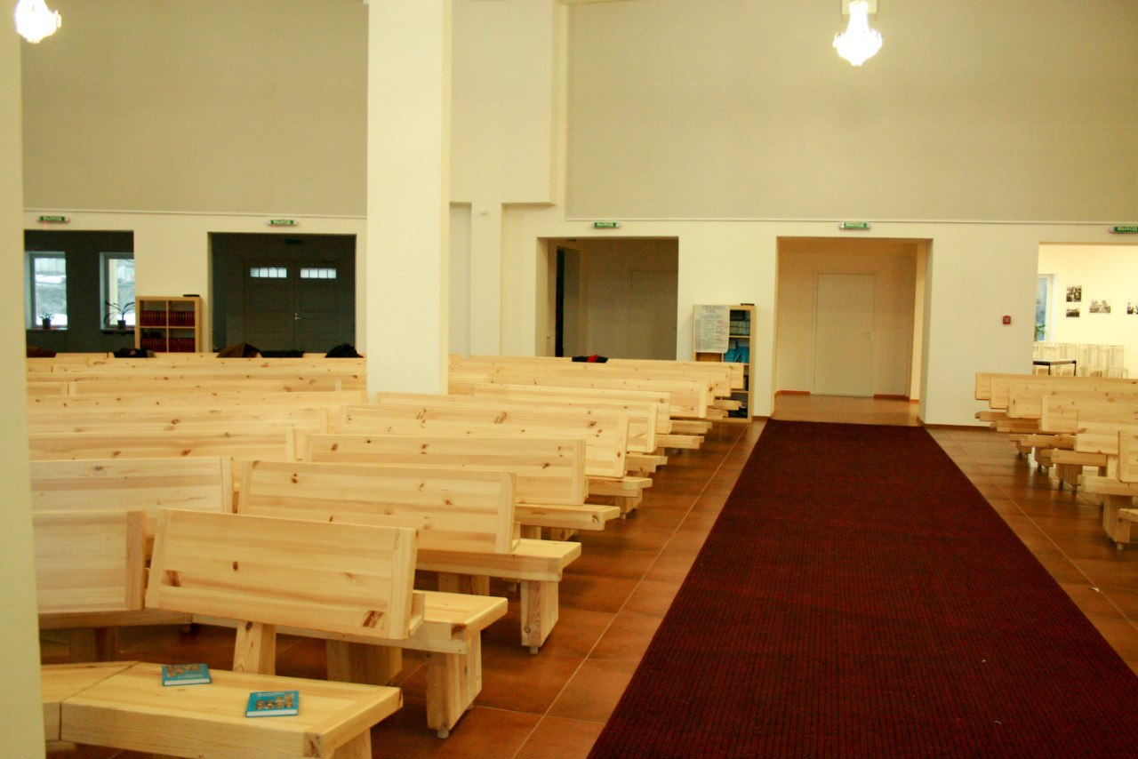 April 2012. Lutheran church in Petrosavodsk