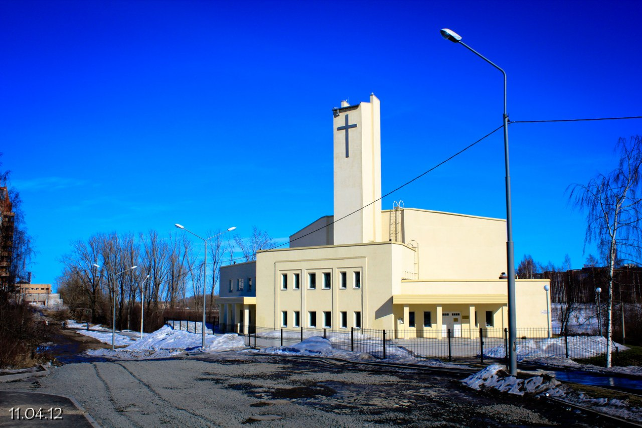 April 11, 2012. Lutheran church in Petrosavodsk