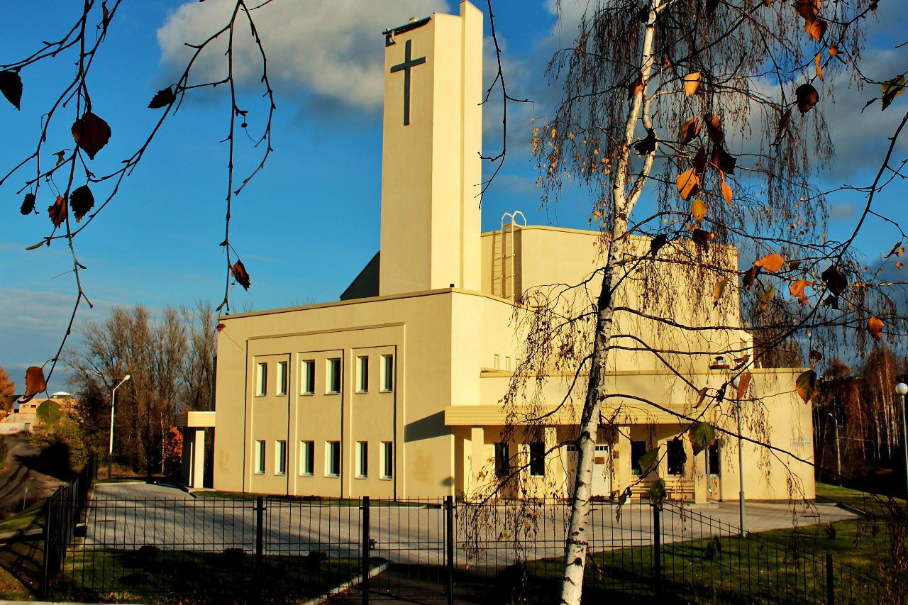 October 2012. Lutheran church in Petrosavodsk