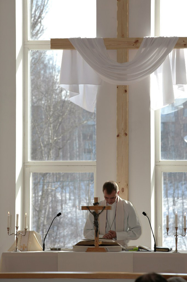 March 31, 2013. Lutheran church in Petrosavodsk