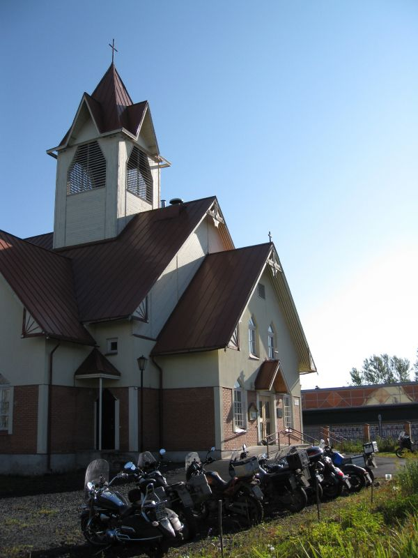 September 14, 2014. Lutheran church in Kondopoga