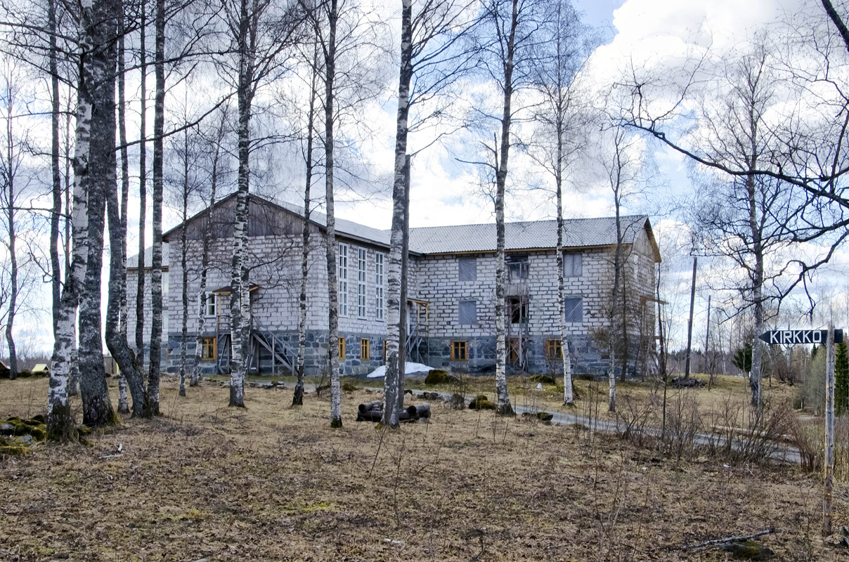 May 4, 2012. Lutheran church in Ruskeala