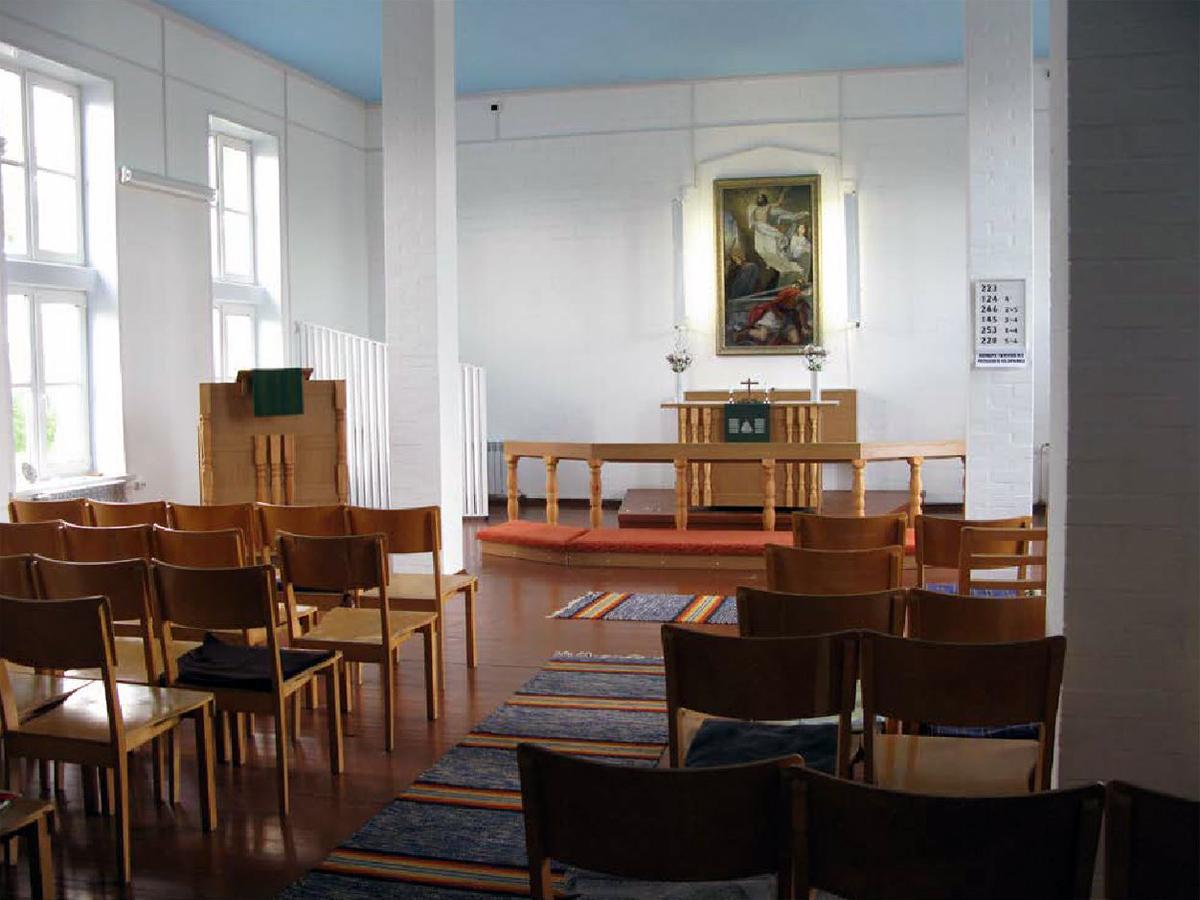 July 2017. Lutheran church in Ruskeala