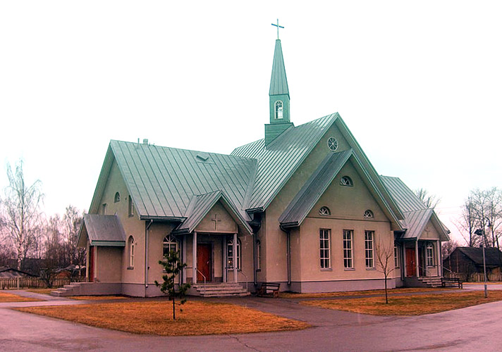 April 3, 2007. Lutheran church in Olonets