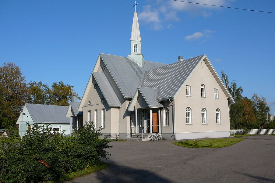 August 23, 2007. Lutheran church in Olonets
