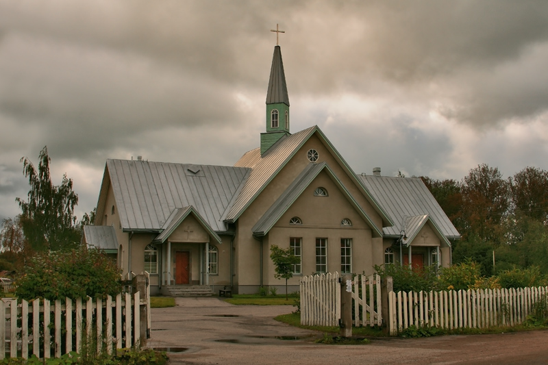 2007. Lutheran church in Olonets