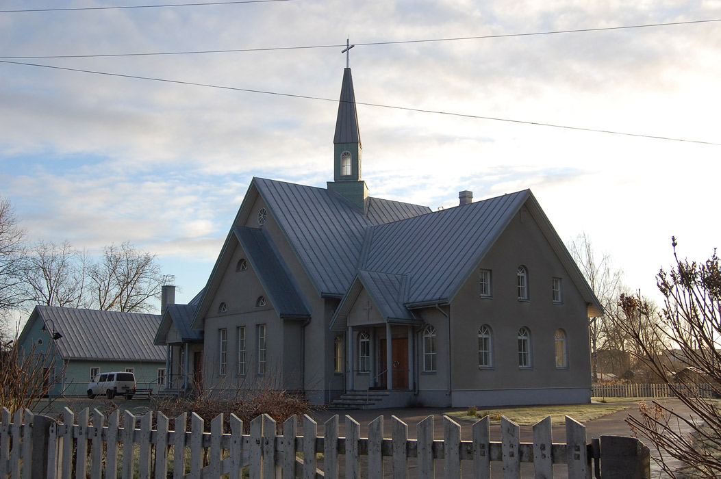 November 4, 2008. Lutheran church in Olonets