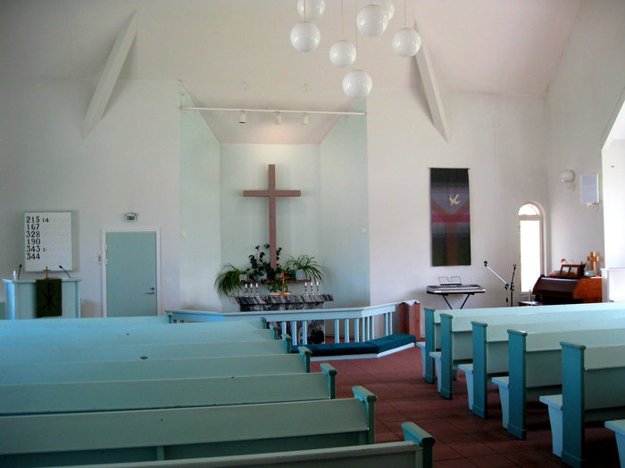 June 4, 2010. Lutheran church in Olonets