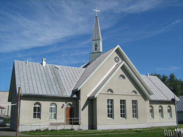 July 19, 2009. Lutheran church in Olonets