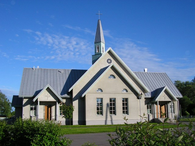 2008. Lutheran church in Olonets