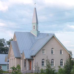 2003. Lutheran church in Olonets