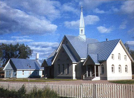2000's. Lutheran church in Olonets