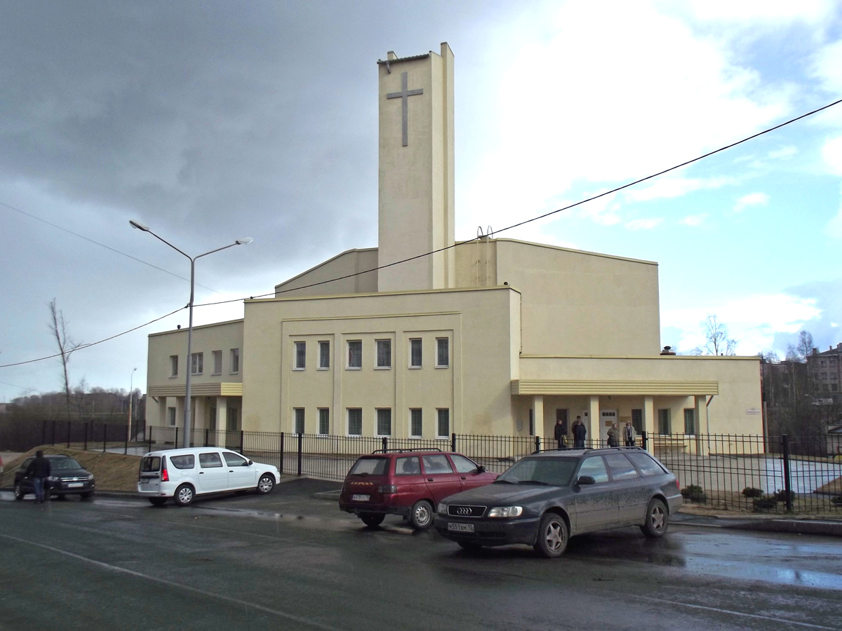 April 2013. Lutheran church in Petrosavodsk
